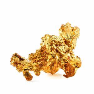 pierre pépite d'or caractéristiques