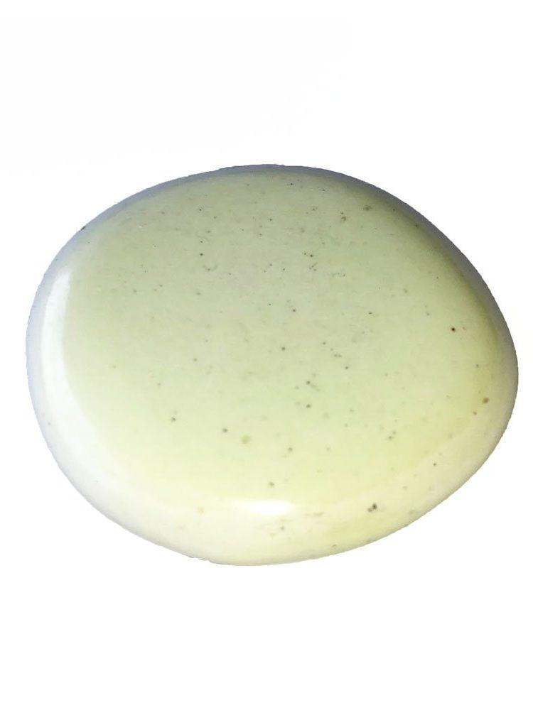 galet chrysoprase citron