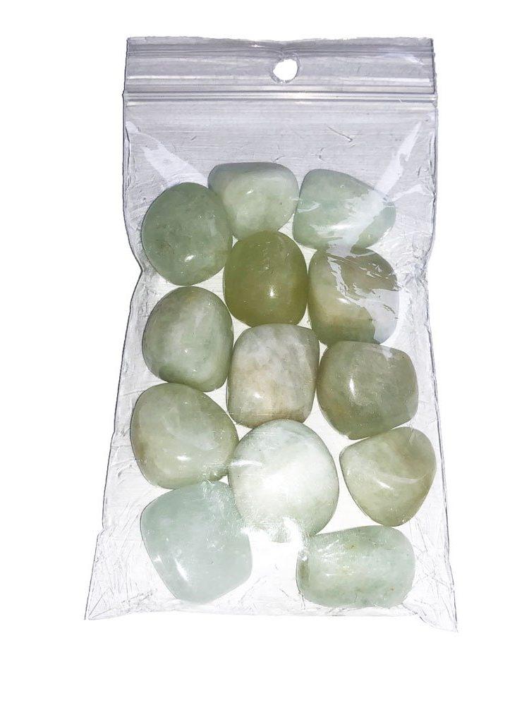pierres roulées aigue-marine 250grs