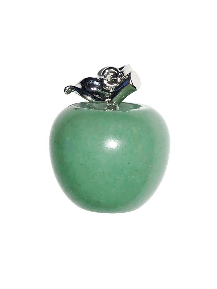pendentif aventurine pomme