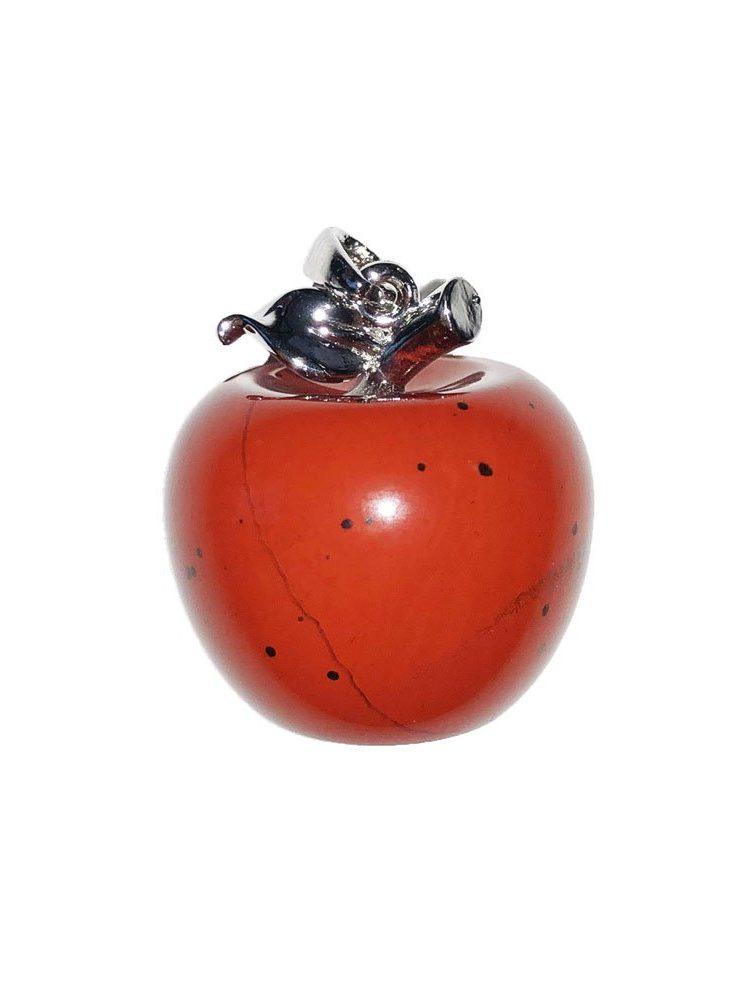 pendentif jaspe rouge pomme