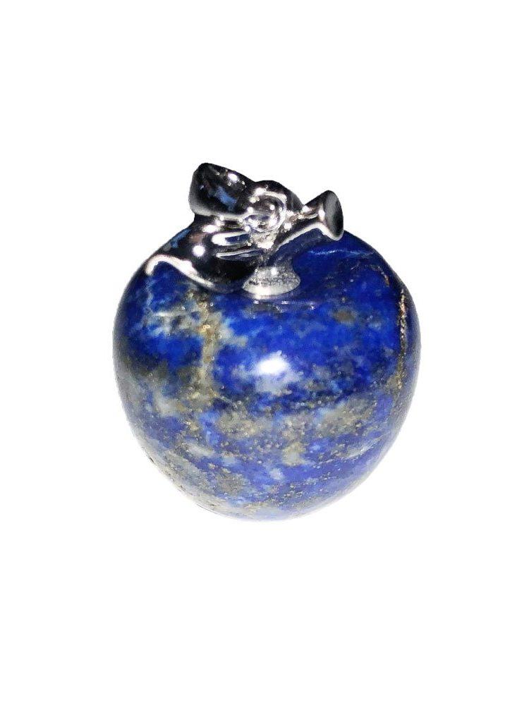pendentif lapis lazuli pomme