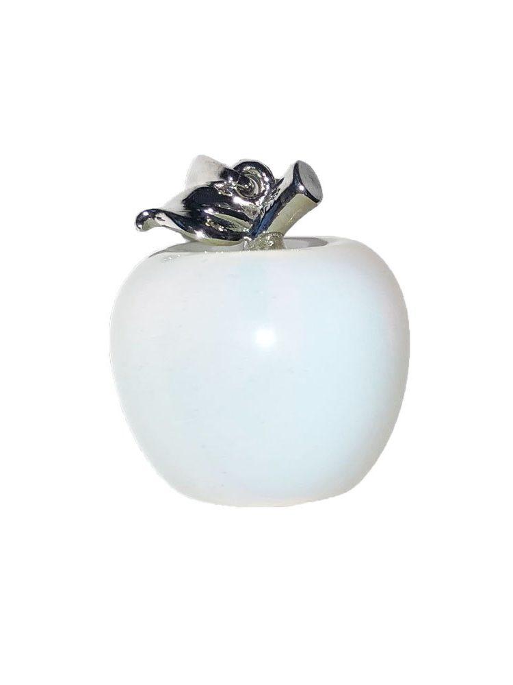 pendentif opale synthétique pomme