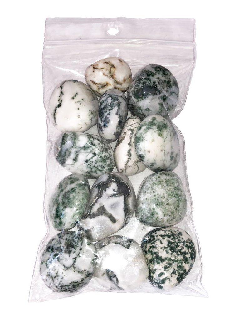 sachet pierres roulées agate arbre 250grs