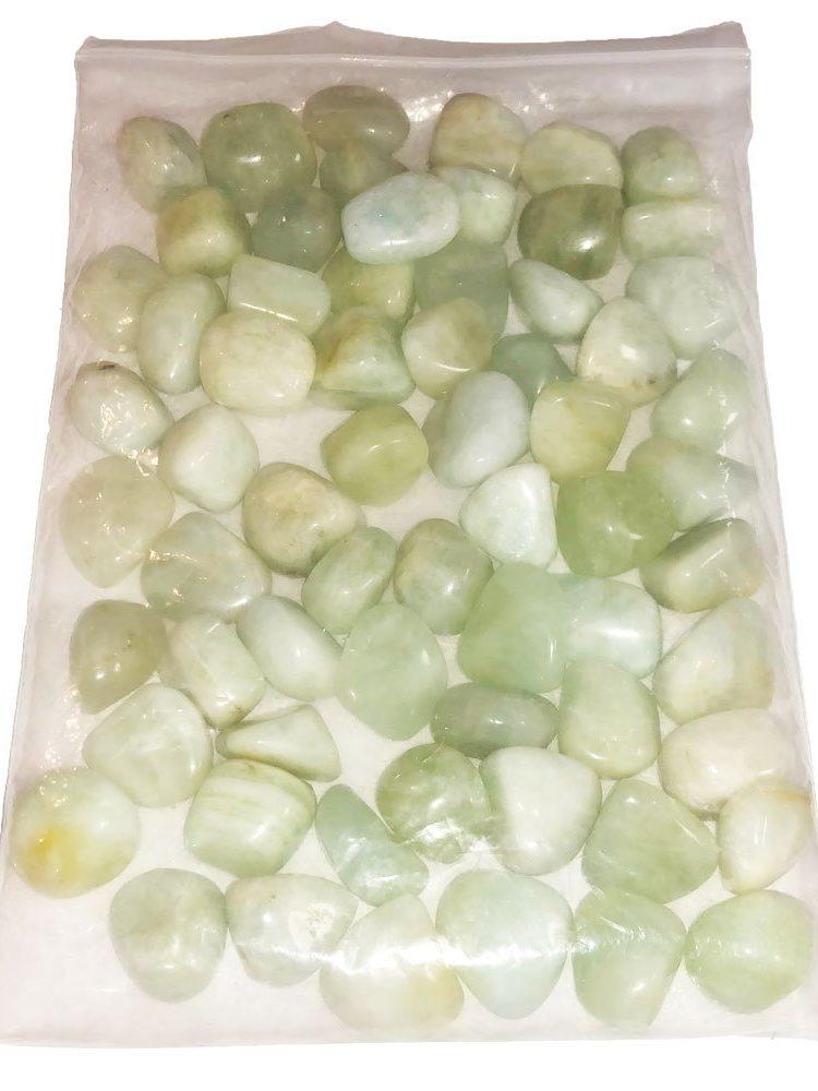 sachet pierres roulées aigue marine 1kg