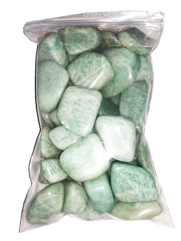 sachet pierres roulées amazonite