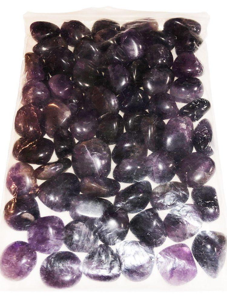sachet pierres roulées améthyste 1kg