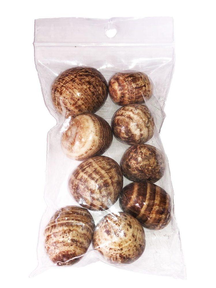 sachet pierres roulées aragonite 250grs
