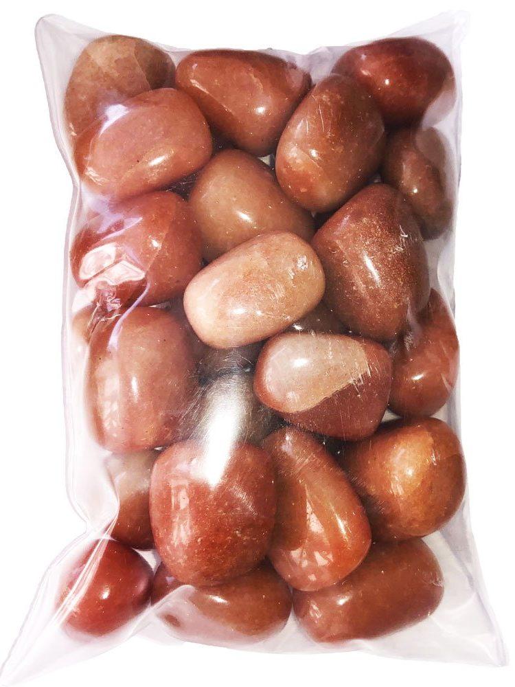 sachet pierres aventurine rouge
