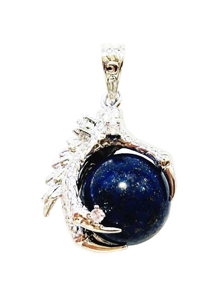 Pendentif Lapis-lazuli Main de Dragon